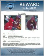 Robbery / Subway 3440 W. Thomas Rd