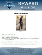 Armed Robbery / 3550 W. Dunlap Ave