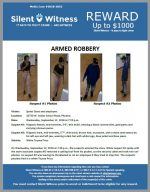 Armed Robbery / Sprint Store / 10720 W. Indian School Road, Phoenix