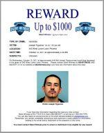 """Joseph Figueroa """"Jo Jo""""  / 945 West Lynne Lane, Phoenix"""