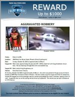 Aggravated Robbery / 60 year old male 2640 W. Van Buren St