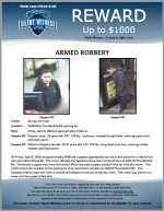 Armed Robbery / 32 year old male 2140 W. Thunderbird Rd