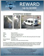 Attempted Robbery / 61 year old female 2502 E. Camelback Rd
