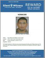 Omar Alberto Leon Delgado / 3700 W. Mescal Street, Phoenix (alley north)