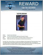 Voyeurism / 4727 East Cactus Road and 12805 North Tatum Blvd., Phoenix