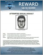 Attempted Sexual Assault / 7021 West McDowell Rd, Phoenix – Ventana Apartments parking lot