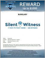Burglary / 4500 W Butler Dr, Glendale