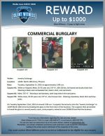 Commmercial Burglary / Jewelry Exchange 12644 N. 28th Dr, Phoenix