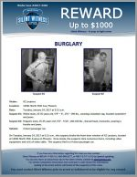 Burglary / AZ Locators 13041 N. 35th Ave, Phoenix