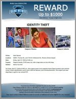 Identity Theft / 3609 E. Thomas Rd., and 7333 W. McDowell Rd., Phoenix (Home Depot)