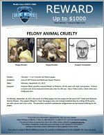 Animal Cruelty / Area of 26th Street and McDowell Road, Phoenix