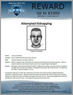 Attempted Kidnapping / Area of 2800 West McDowell Road, Phoenix