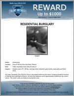 Residential Burglary / Area of 700 E. Alta Vista Rd., Phoenix