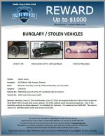 Burglary / Stolen Vehicles / Classic Autos 4220 N. 19th Ave, Phoenix