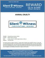 Animal Cruelty / 6539 N. 43rd Ave, Phoenix