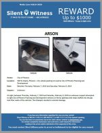 Arson / City of Phoenix / 500 W. Adams Street