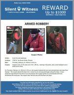 Armed Robbery / Food City / 2709 W. Van Buren St.