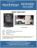 Credit Card Theft / 305 E. Thomas Road and 3455 W. Glendale Ave, Phoenix