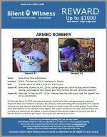Armed Robbery / Family Dollar / 5656 N. 27th Ave. and 2550 W. Van Buren St., Phoenix