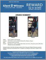 Armed Robbery / Circle K and Filiberto's