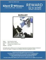 Commercial Burglary / Fast & Friendly Car Wash / 6650 S. Central Ave, Phoenix