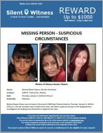 Missing Person / Monica Renee Chavez / 2300 W. Thomas Rd., Phoenix