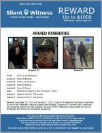 Armed Robberies / Multiple Locations / Phoenix