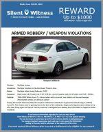 Armed Robbery / Weapon Violations / Northeast Phoenix Area