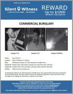Commercial Burglary / 5301 W. Madison St., Phoenix