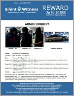 Armed Robbery / Circle K / 5141 N Central Ave., Phoenix