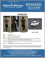 Commercial Burglary / Area of 4800 E. Cactus Road, Phoenix