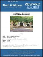 Criminal Damage / George Washington Carver Museum 415 E. Grant St.