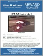 Hit and Run / 50 year old female / In the area of 3000 W. Indian School Road