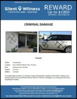 Criminal Damage / Area of 500 W. Windsor Ave.
