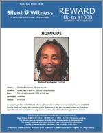 Homicide / Christopher Forrest / In the area of 6500 W. Ocotillo Road, Glendale
