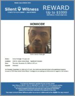 Homicide / Andre Fulbright / 3226 W. Indian School Road