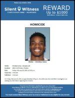 Homicide / Christian Jones / 3045 N. 67th Ave.