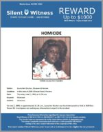 Homicide / Laura Ann Gordon / In the area of 2800 E Roeser Road, Phoenix