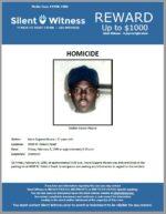 Homicide / Kevin Eugene Moore / 4000 W. Osborn Road