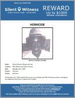 Homicide / Fredrick Smoots / 900 S. Montezuma Street, Phoenix