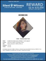 Homicide / Chardae Amari Todd / In the area of 4000 W. Tonto St., Phoenix
