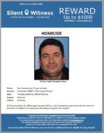 Homicide / Saul Unzueta-Sosa / In the area of 4000 S. 19th Avenue, Phoenix