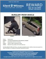 Burglary from Vehicle / In the area of the 6900 block of East Lafayette, Scottsdale