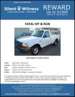 Fatal Hit & Run / Jason Foote / 6700 W. Thomas Rd., Phoenix