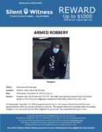 Armed Robbery / AutoZone / 4319 W. Indian School Rd., Phoenix