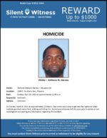 Homicide / Anthony Harvey / 1640 E. Southern Ave., Phoenix