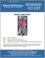 Credit Card Theft / 5250 W. Indian School Rd and 4840 N. 43rd Ave