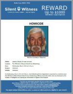 Homicide / Lorenzo Chavira / The 700 block of Buena Vista Drive, Wickenburg