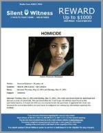 Homicide / Shavone Robinson / In the area of 4802 N. 19th Avenue