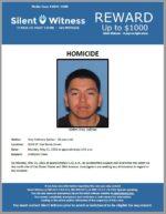 Homicide / Troy Salinas / In the area of 3010 W. Van Buren Street